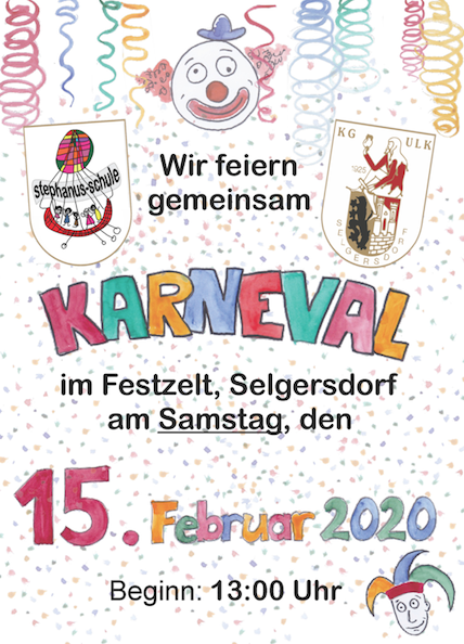 Einladung Karneval 2020
